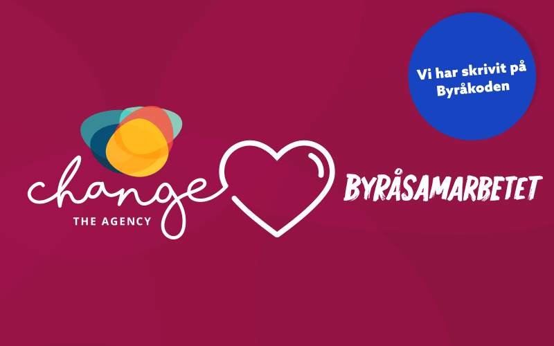 Change supports Byråsamarbetet