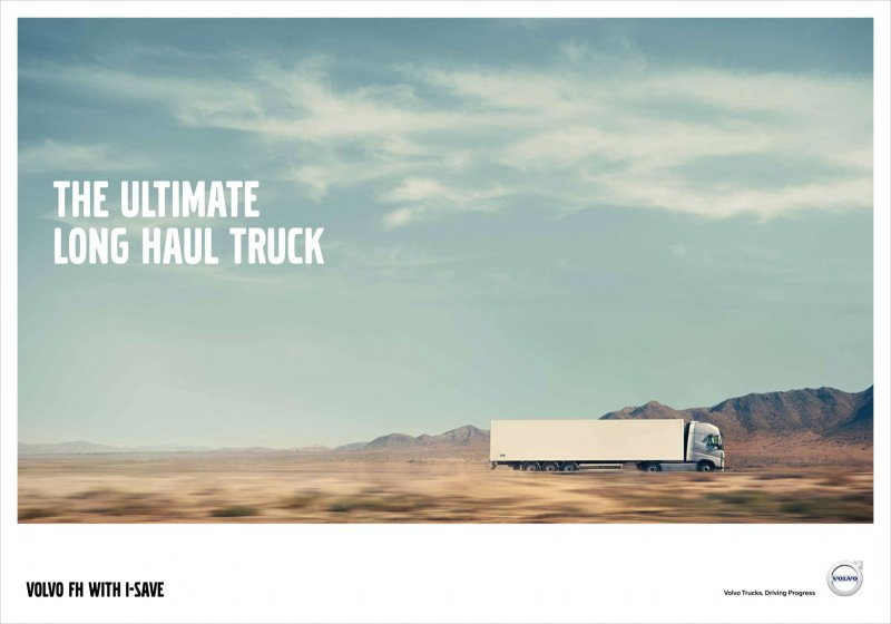 Volvo FH with I-Save Poster 1
