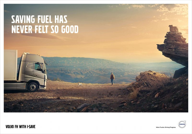Volvo FH with I-Save Poster 2